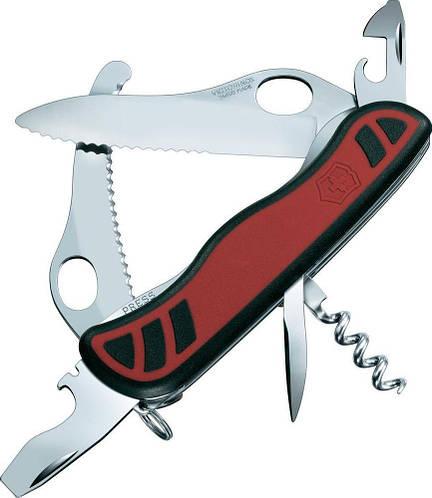 Складной многофункциональный нож Victorinox Dual Pro, 08371.MWС красный