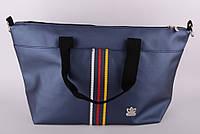 Сумка женская Adidas цвет синий (кожзам) 52х30х14 SOR /52-31