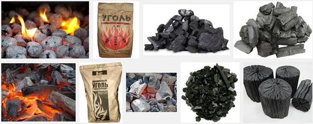 Древесный уголь в Украине