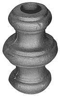 Насадка 67x40x14,5 отверстие под кругляк Арт. AD-41.006