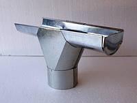 Евро Лейка водосточная  система 110 мм Ø87 цинк