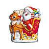 Шоколадный Николай на санях (Дед мороз) Figaro 85 г