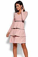 (S / 42-44) Вишукане рожеве коктейльне плаття Sharlis