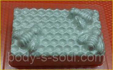 Пластиковая форма 270 - Пчелы на сотах