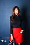 Женская кашемировая юбка с карманами (5 цветов), фото 2