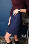 Женская кашемировая юбка с карманами (5 цветов), фото 3