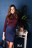 Женская кашемировая юбка с карманами (5 цветов), фото 9