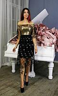 Коктейльное платье Звезды и Пайетка  34747