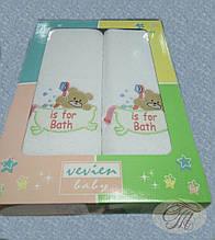 Дитячий набір махрових рушників Vevien Baby Clup
