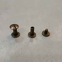 Винт ременной 9 мм антик