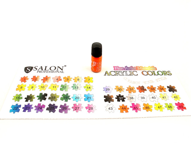 Акриловые краски Salon Professional