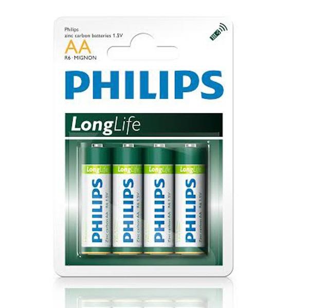 Батарейка Philips LongLife R6