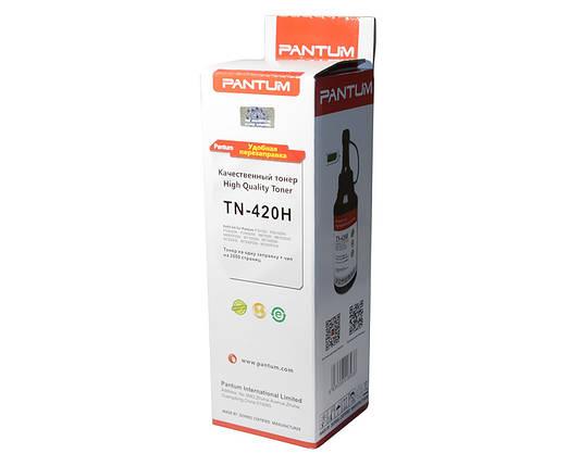 Комплект для заправки картриджа Pantum TN-420H, Black, M6700/M6800/M7100/M7200, P3010/P3300, тонер + чип 3k, фото 2