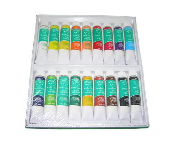 Акриловые краски Global