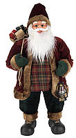 Новогодняя Игрушка Санта Клаус большой 80 см
