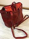 Рюкзак с пайетками большой., фото 2