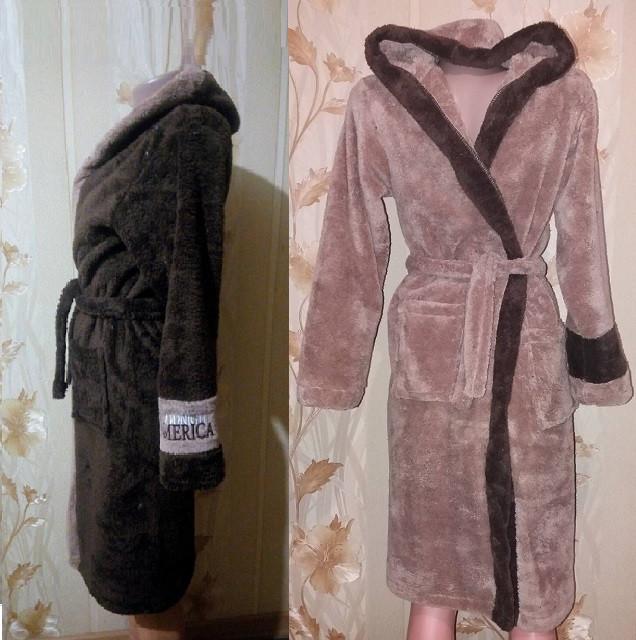 Подростковый халат для мальчика 10-15лет