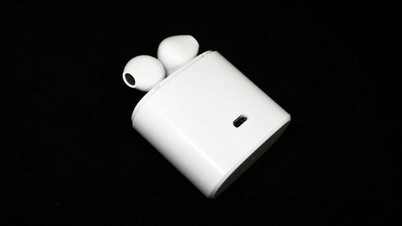 Hbq I7s беспроводные Bluetooth наушники Apple Airpods с док станцией