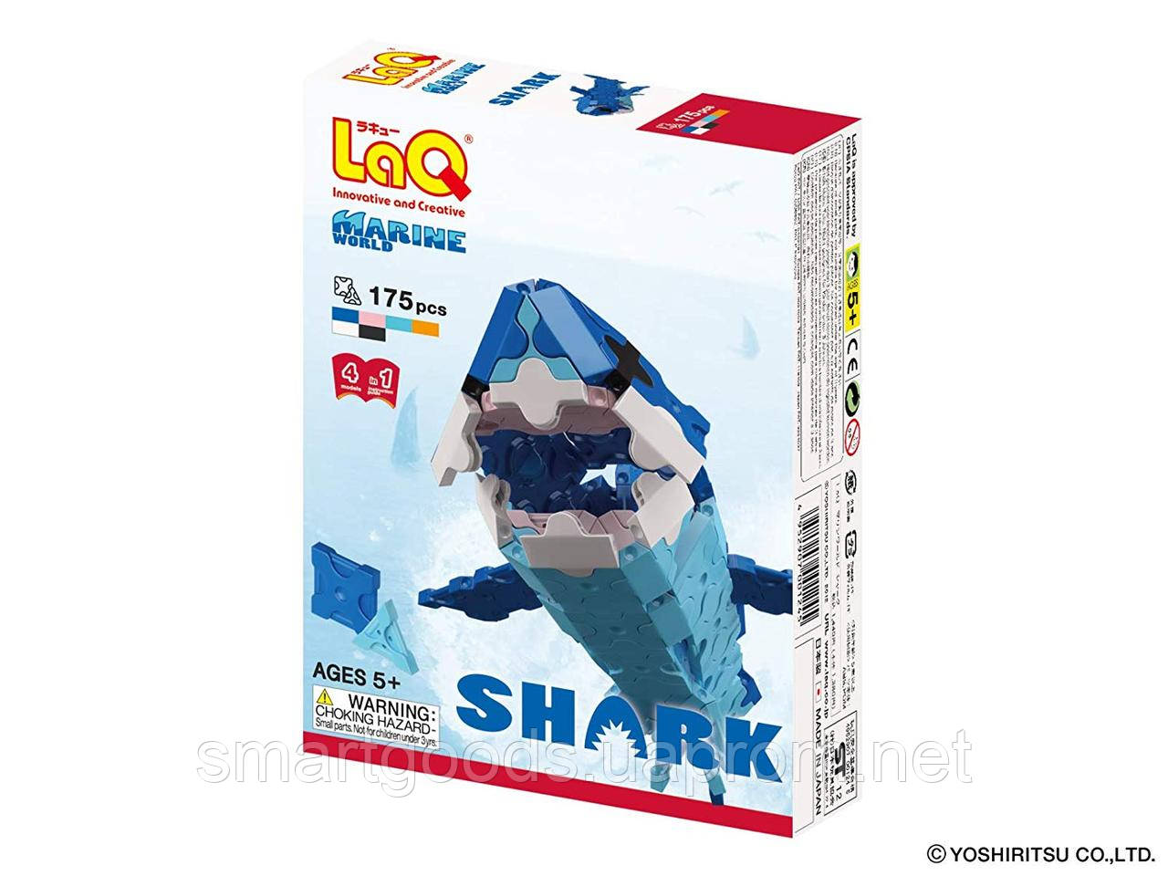 Конструктор LaQ Акула 4 в 1 , фото 1