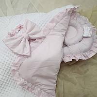 Кокон + конверт плед + ортопедическая подушка