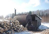 Древесный уголь производство