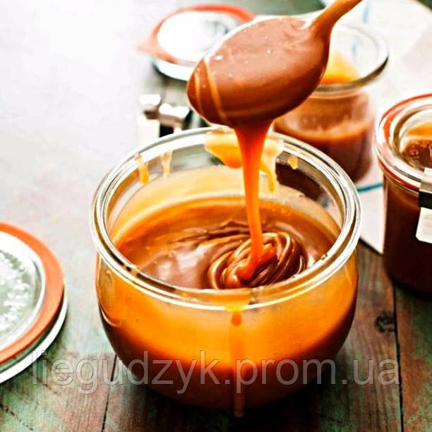 Рідка вершкова карамель-іриска класична [соусна]