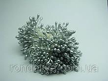Тычинки для цветов серебро
