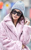 Шапка из крупной вязки для женщин 211 в расцветках, фото 1