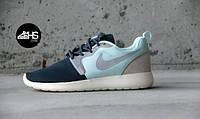 Мужские летние кроссовки Nike Roshe Run 40 Темно-серый