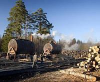 Древесный уголь в мешках