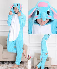 Пижама кигуруми Слон XL