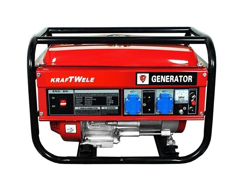 Бензогенератор KRAFTWELE OHV 6500 4,5KW 1F