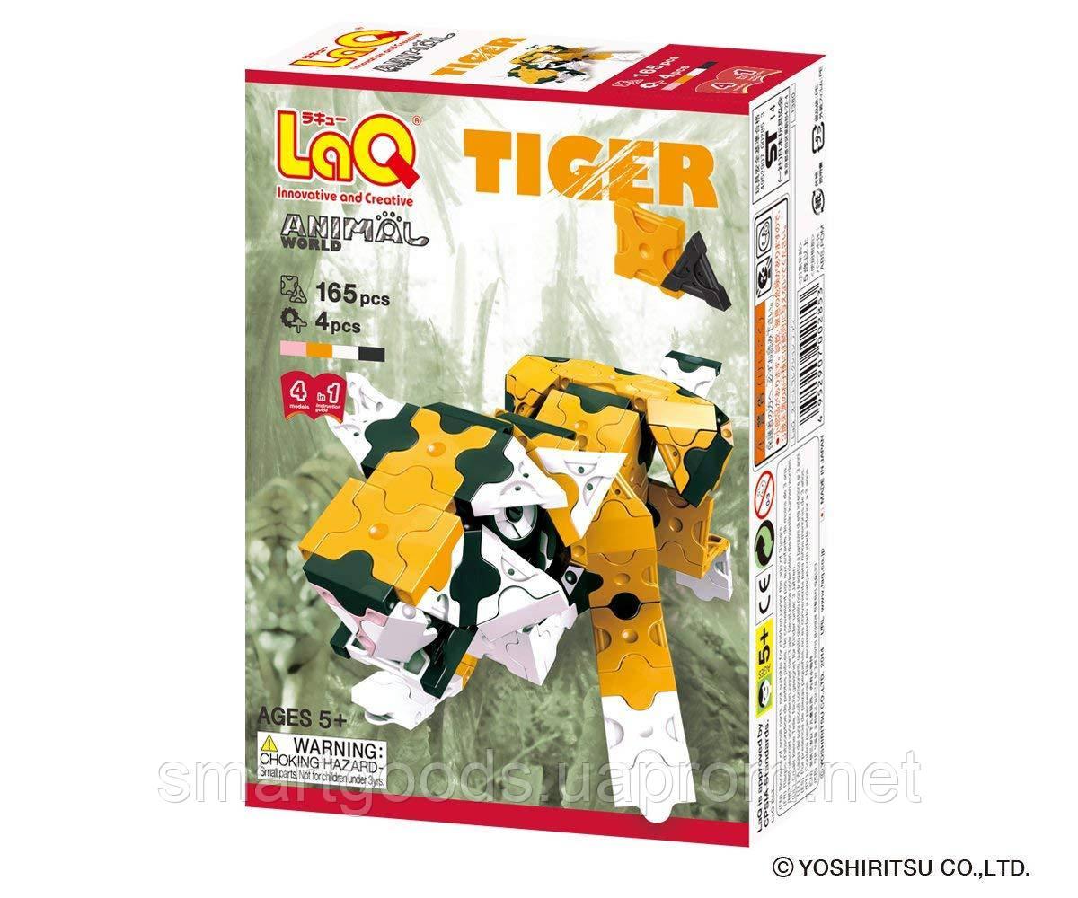 Конструктор LaQ Тигр 4 в 1 , фото 1
