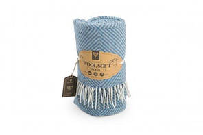 Плед шерстяной Wool Lille ТМ Идея 140х200, фото 3