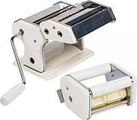 Лапшерезка-равиольница от тм biowin, приготовление домашней лапши/равиоли, регулятор толщины, 2 размера лапши