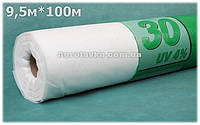 Агроволокно Плотность 30г/кв.м 9,5м х 100м Белое (AGREEN)