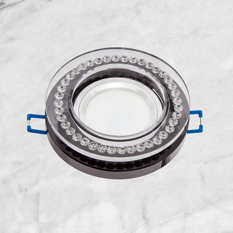 Точечный стеклянный врезной светильник (16-MKD058)