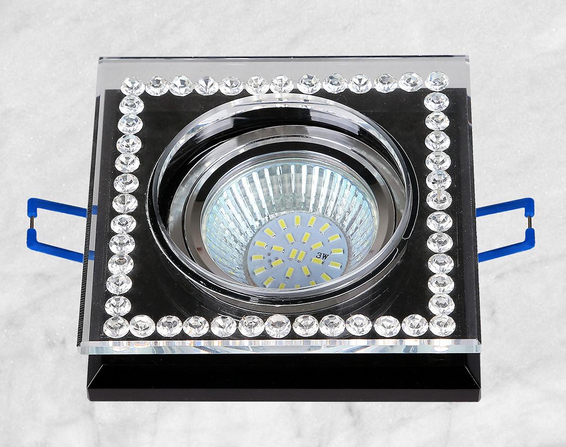 Точечный стеклянный врезной светильник (16-MKD068)