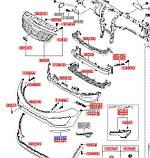 Молдинг бампера переднего ресничка левая хром, KIA Sportage 2010-15 SL, 865813u010, фото 5