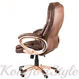 Кресло офисное Bayron brown, фото 4