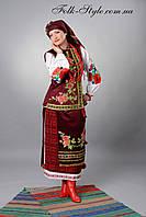 Український національний жіночий костюм №12(44-56р.)