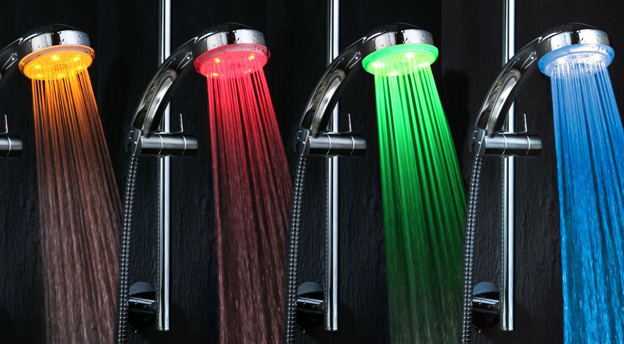 Світлодіодна насадка на душ Shower LED Bradex