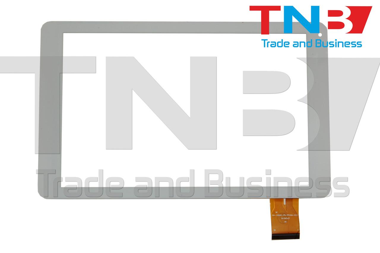 Сенсор 257x157mm 50pin XY20160922 БЕЛЫЙ