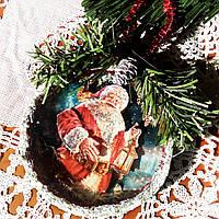 Игрушка на елку Дед мороз Подарок на День Святого Николая Рождество Новый год , фото 1