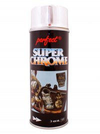 Краска DECO LACK CHROME серебро в аэрозоли 400мл