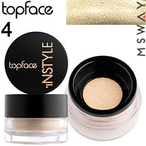 TopFace - Тени для век рассыпчатые Instyle Loose PT-509 Тон 04 кремово песочные сатиновые, фото 2