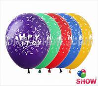 """Happy Birthday 12"""" 30 см"""