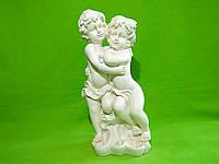 Статуэтка из гипса «Дети пара» слоновая кость