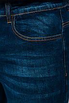 Джинсы мужские всесезонные 911K002 (Темно-синий), фото 3