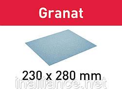 Бумага шлифовальная 230x280 P40 GR/10 Granat Festool 201256